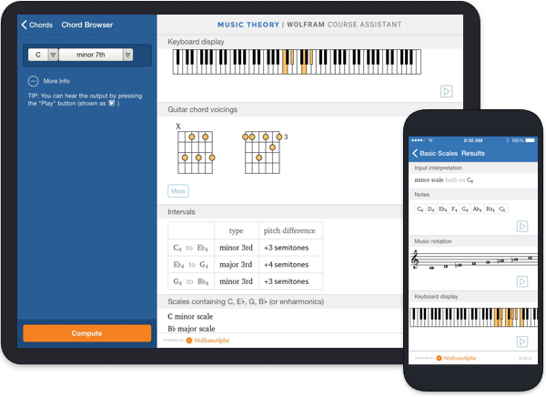 Music Theory Wolfram Course Assistant Image