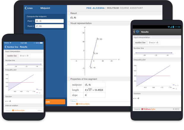 Wolfram Course Assistant Apps