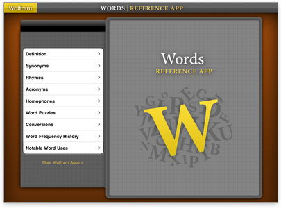 possible words with given letters wolfram reference apps word reference resource 437